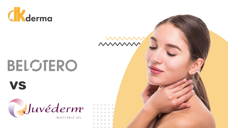 Belotero VS Juvederm: Comparing the Two Fillers