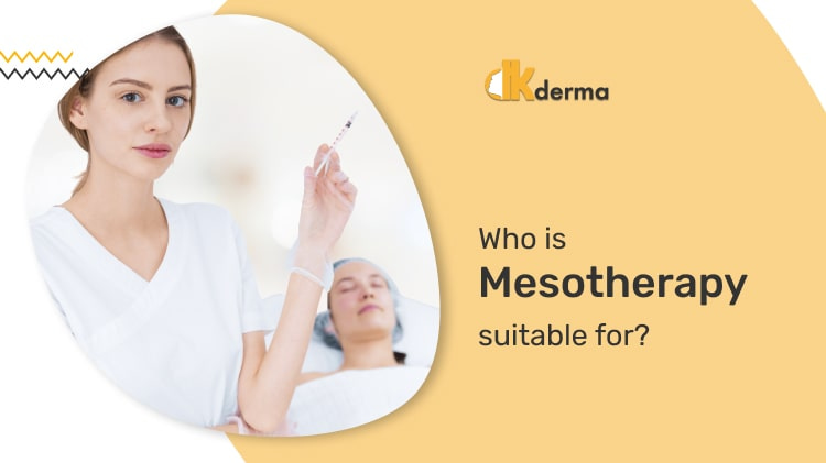 Who is mesotherapy suitable for?